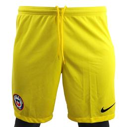 Nike Short de Hombre Arquero Selección Chilena Amarillo