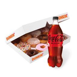 Donuts x 12 + Bebida 1,5 Litros