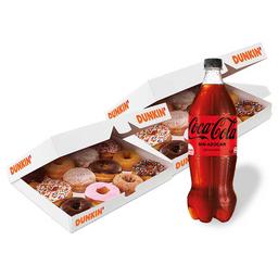 Donuts x 24 + Bebida 1,5 Litros