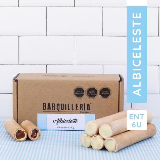 Barquillo Albiceleste