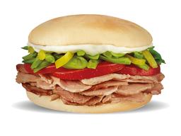 Sándwich de Lomito Chacarero
