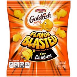 Goldfish Botana Flavor Blasted Xtra Cheddar