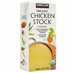 Kirkland Caldo de Pollo Orgánico