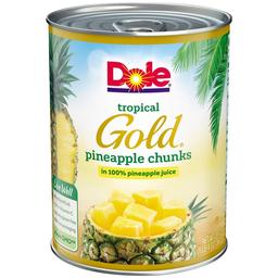 Dole Piña en Cubitos Tropical Gold