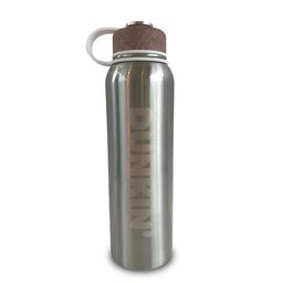 Botella Hidratante de Acero Inoxidable - Tapa de Corcho