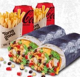 Dupla Maxi Burrito