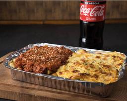 Lasagna Del Monje para 2 + Bebestible