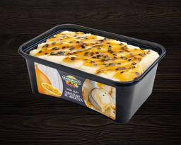 Helado Guallarauco Cheesecake de Maracuyá