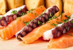 6 cortes de Sashimi