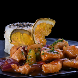 Pollo Orange Spicy