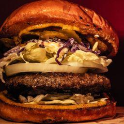 Clw Burger con Papas