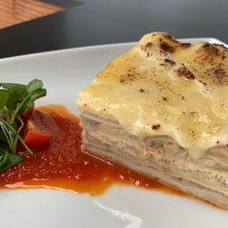 Lasagna Alcachofa