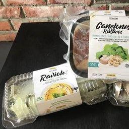 Ravioles Espinca y Hummus - Congelado -