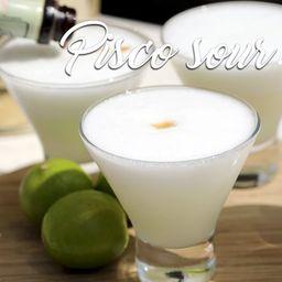 Pisco Sour Clasico Peruano