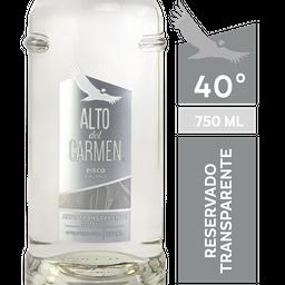 Alto Del Carmen Pisco Transparente 40° Botella