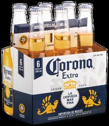 Cerveza Corona 6Pack 355 cc