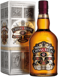 Whisky Chivas Regal 12 años 750 cc