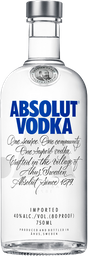 Vodka Absolut Blue 750 cc
