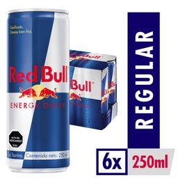 6x Bebida energética Red Bull