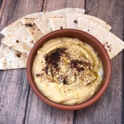 Hummus Del Barrio + Tortillitas Caseras
