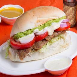 Sándwich de Milanesa Mendoza
