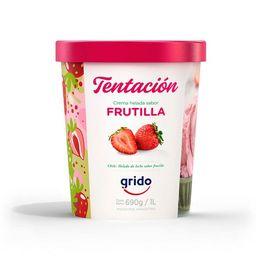 Helado Frutilla 1 Lt