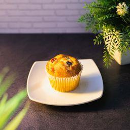 Muffin Vainilla-Frambuesa