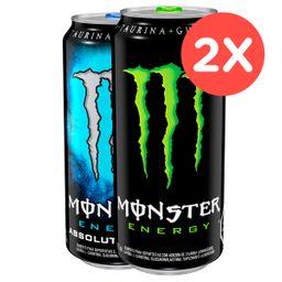 2x Monster 473ml Variedades