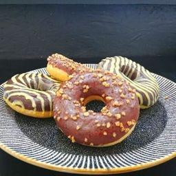 Donut Rellena, Crema Pastelera