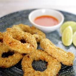 Calamares Apanados con Sal Sweet Chilli