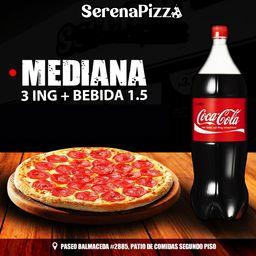 Mediana 3 Ing + Bebida