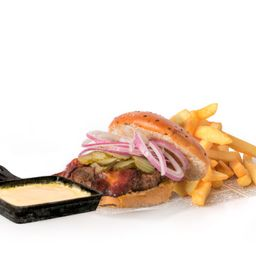 Raclette Cheese Burger