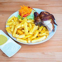 Promo 1/4 Pollo a Las Brasas