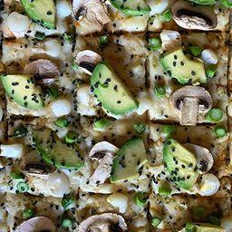 Pizza Jardin Real Individual 20x30