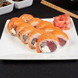 Roll Sake Ebi Maguro
