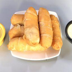 Tequeños con queso llanero (6 unid)