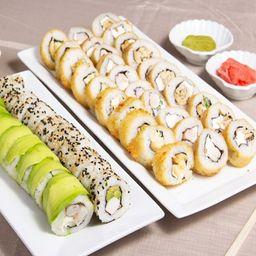 Promo Sushi 4 - 5 Rolls a Elección
