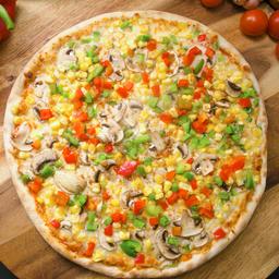 Pizza Griega Vegana Familiar