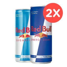 2x Red Bull 250ml Variedades