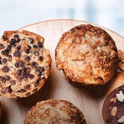 3 muffins tradicionales