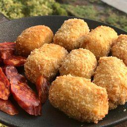 Croquetas de Chorizo Sarta