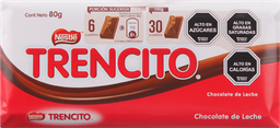 Chocolate Trencito Nestle 80 g