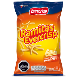 Ramitas Queso Evercrisp 120 Gr