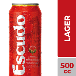 Cerveza Escudo 500 mL