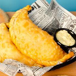 Empanada champiñón queso xl (veggie)
