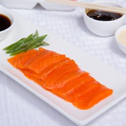 Sashimi de salmón (6 cortes)