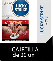 Lucky Strike Blue Cigarrillos Cajetilla 20Un
