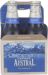 Pack 4x Cerveza Austral Calafate 330ml