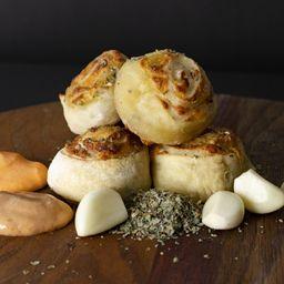 Pan de Ajo y Mozzarella