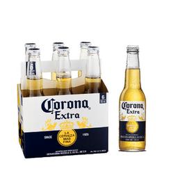 Combo 4: Six Pack Cerveza Corona 330 ml